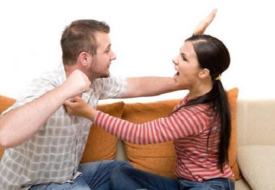 семейные драки мужа и жены
