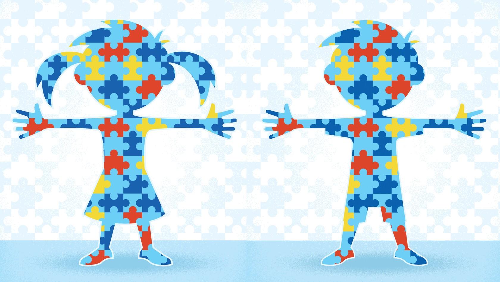 День аутиста картинки