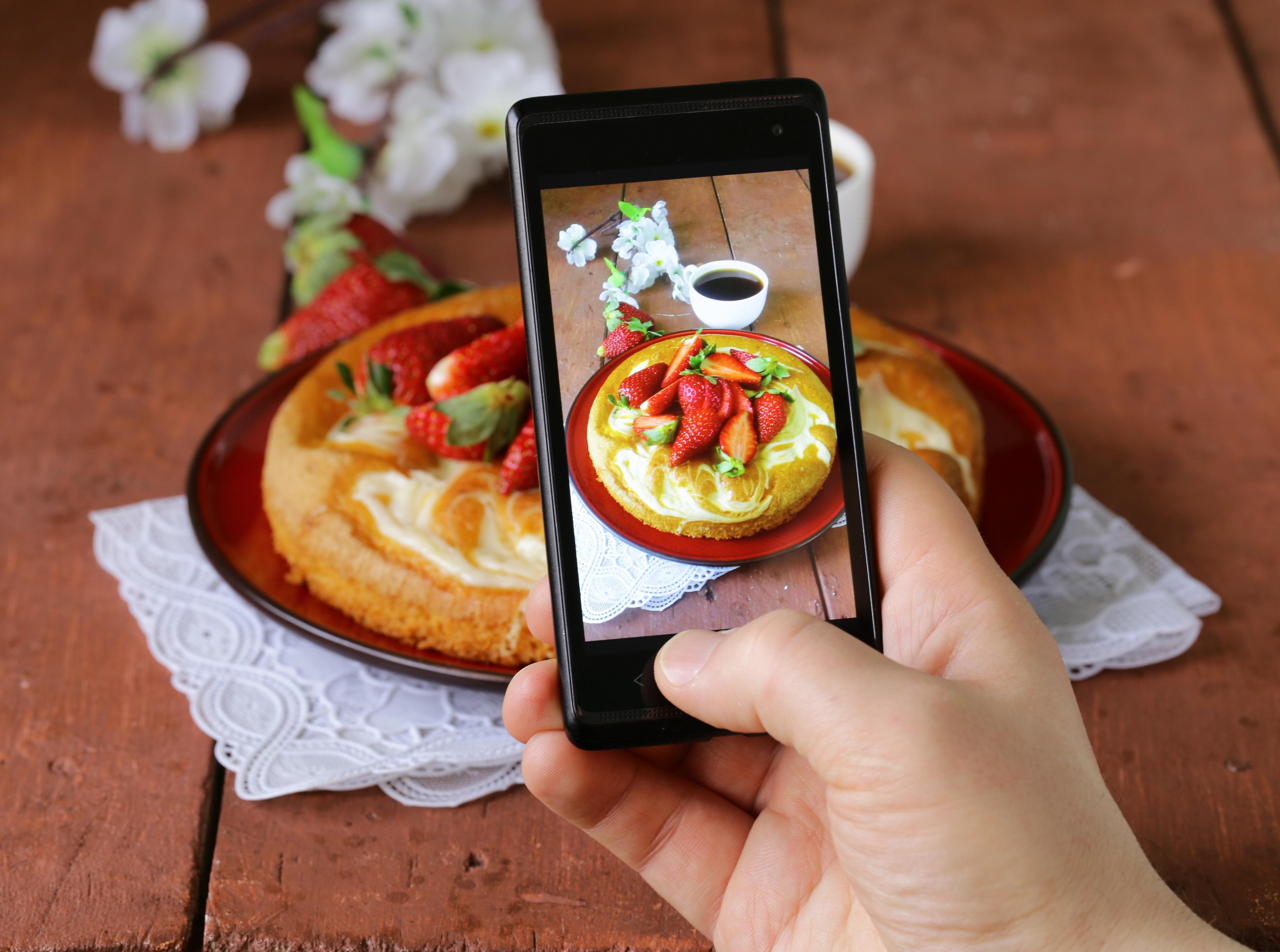 работы картинки фотографируют еду данном