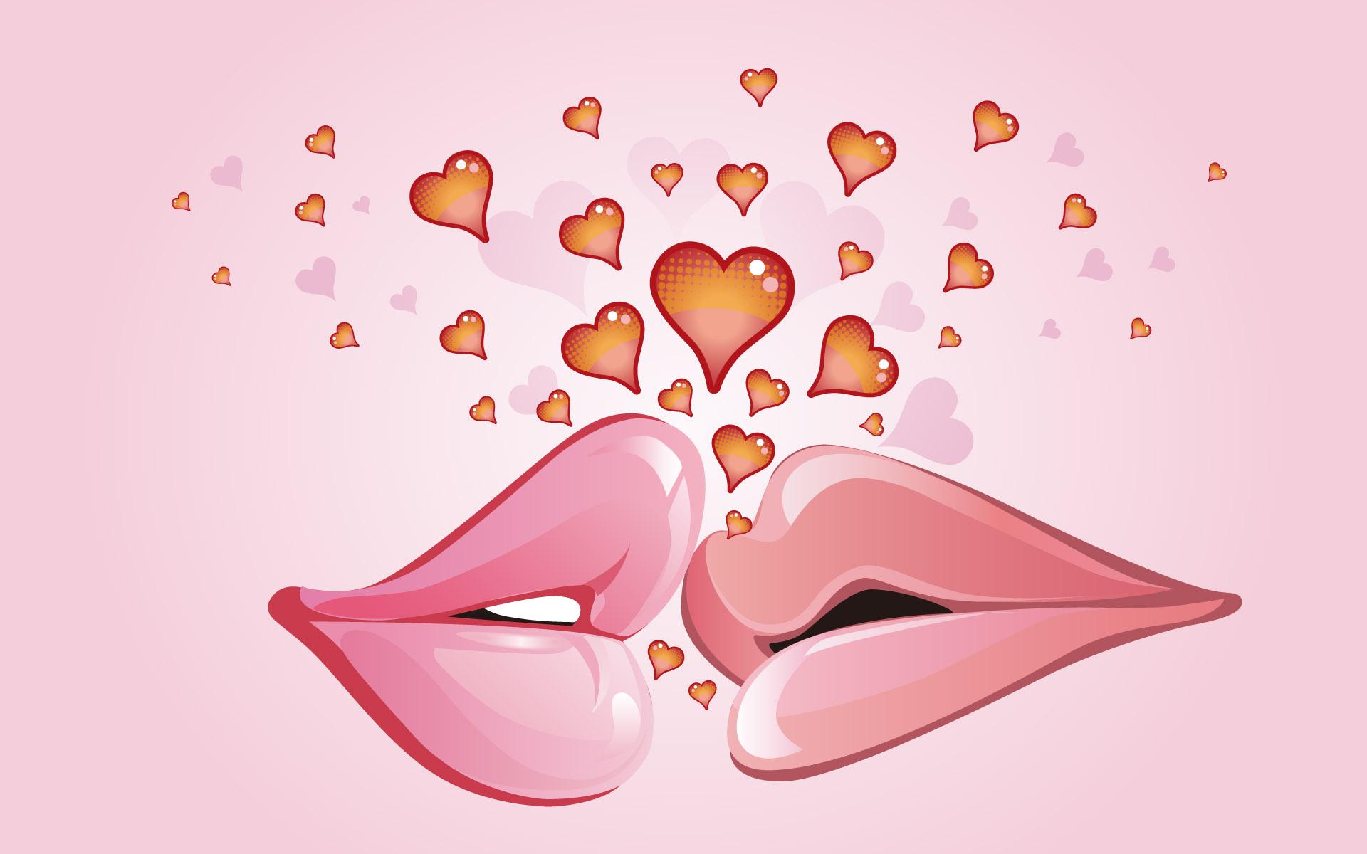 Фото поцелуй дружеский 6