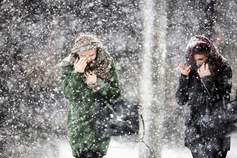 Может ли быть одновременно туман и снег идти