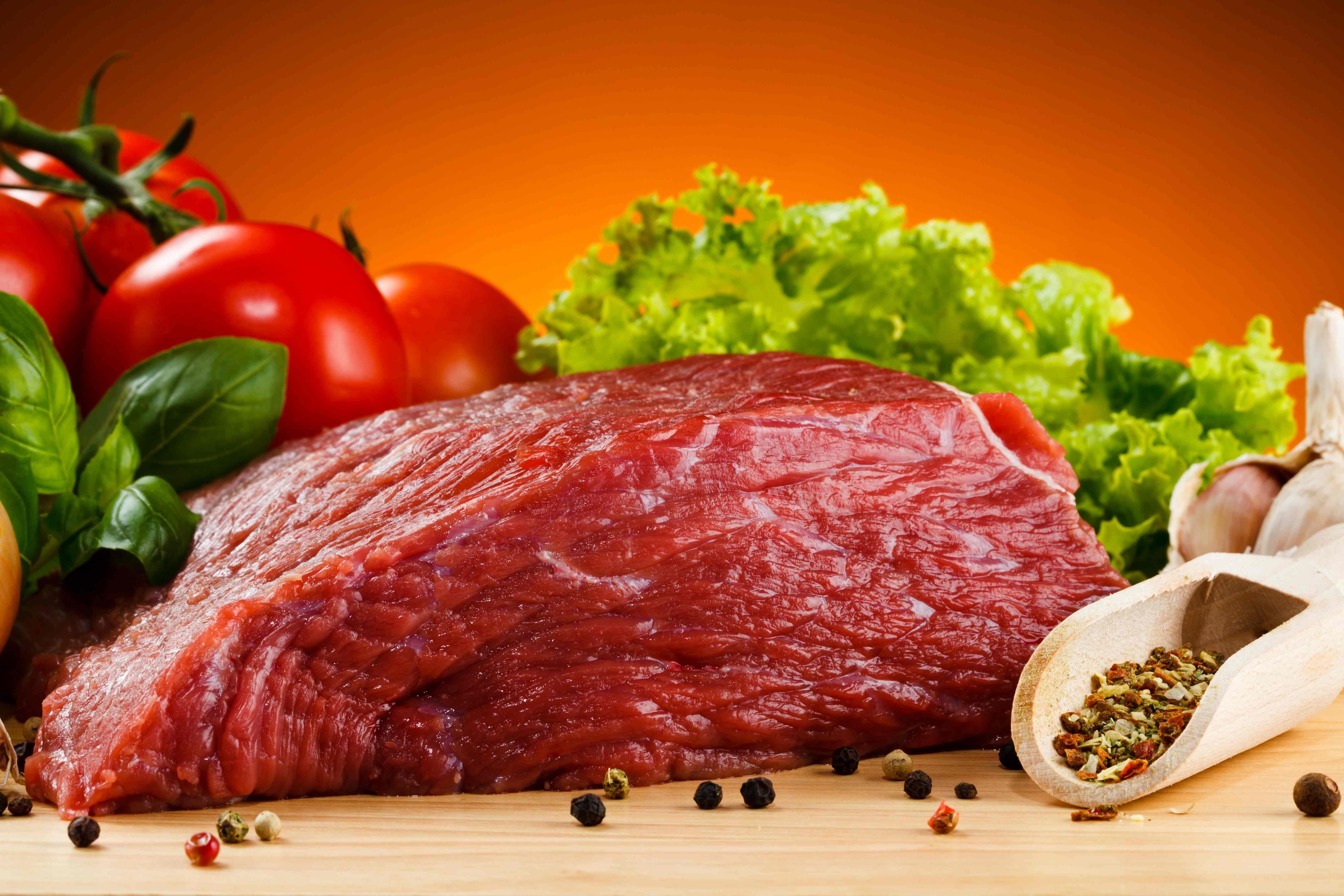 Новому году, картинки про мясо