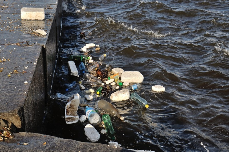 Картинки мусор в реках