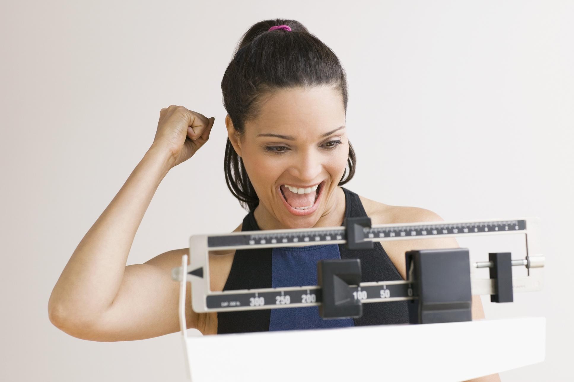 как быстро сбросить вес перед взвешиванием