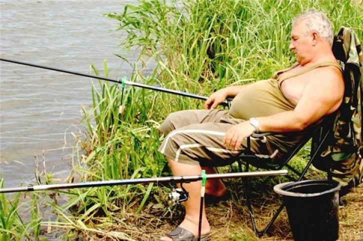 Съездили на рыбалку отдохнули