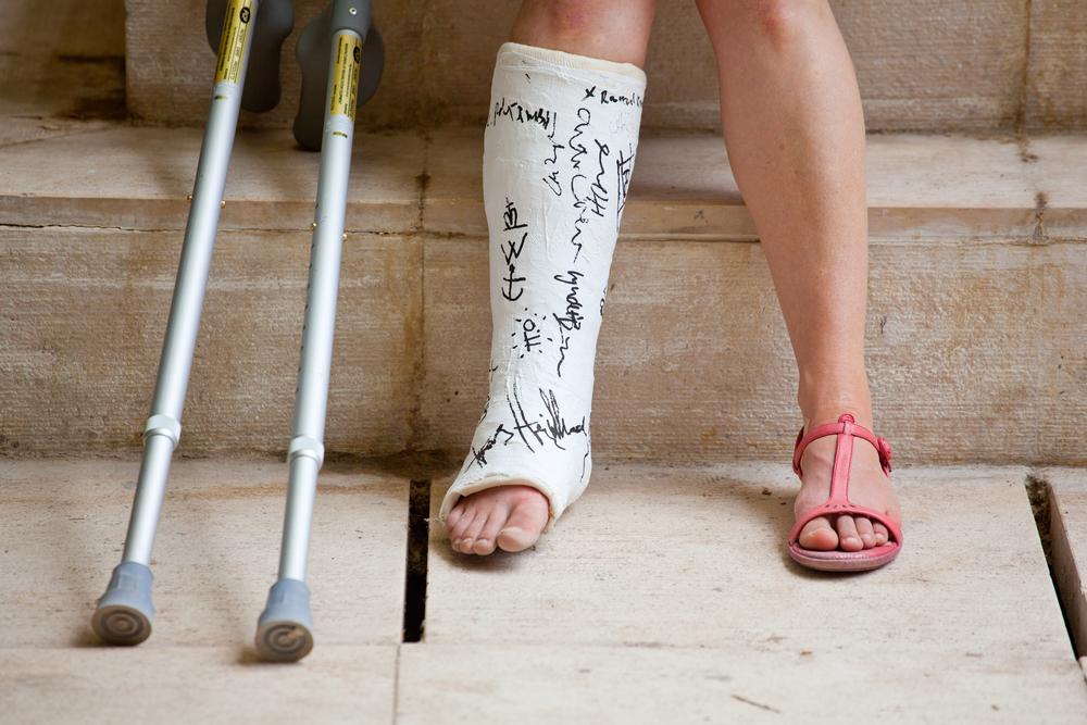 Анимашки, травма ноги картинки смешные