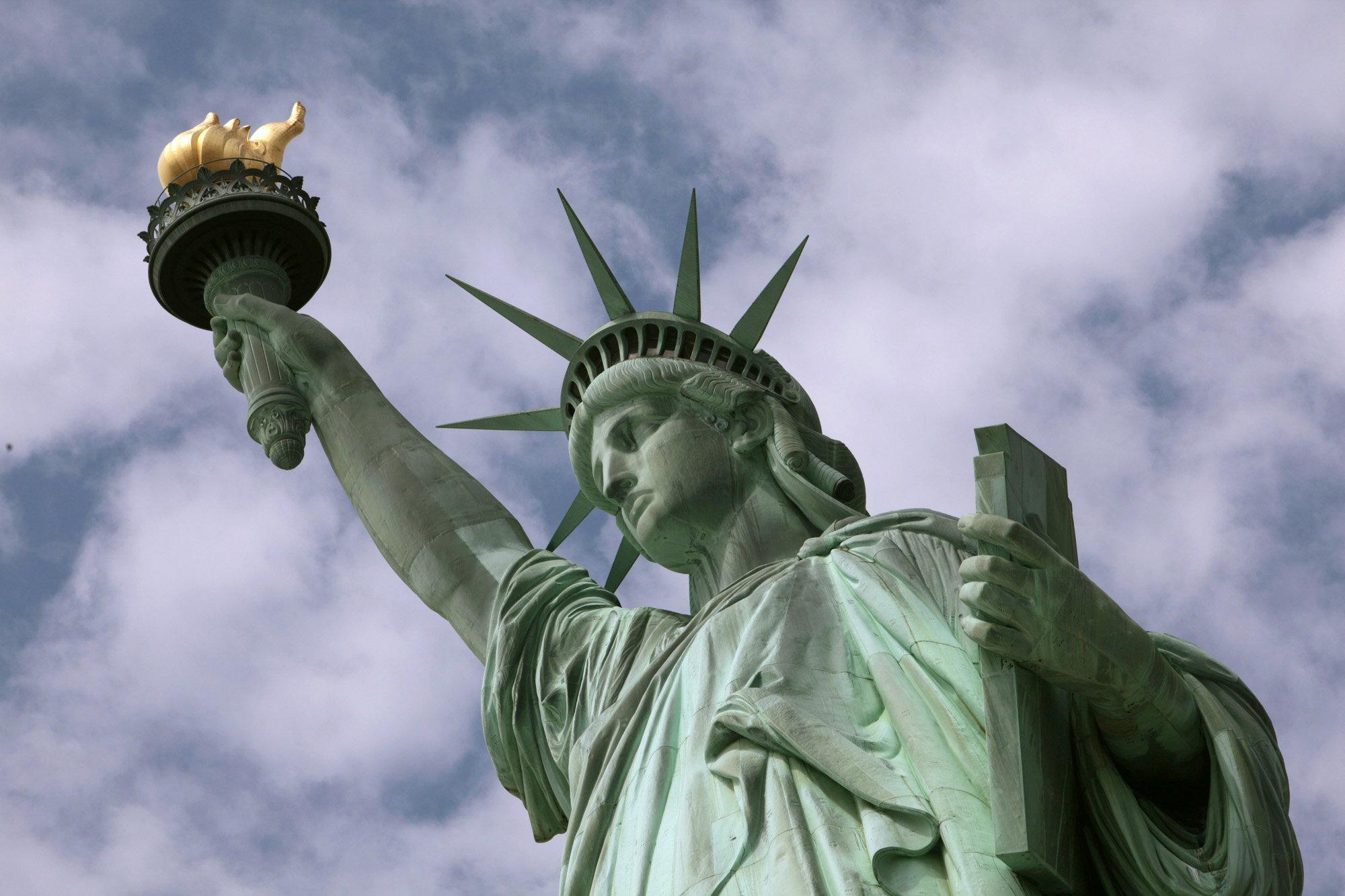 Картинка статуя свободы в америке
