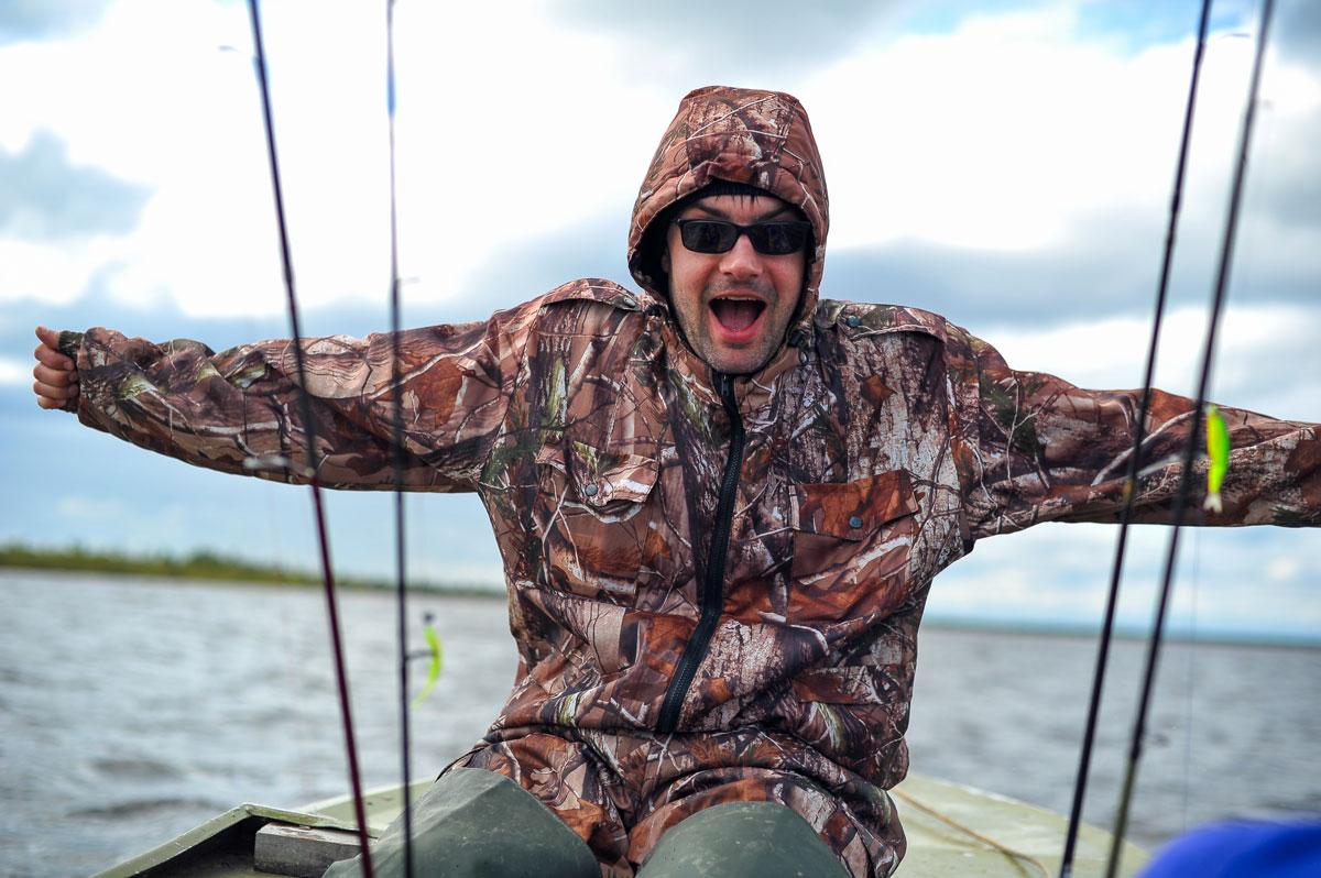 картинки как рыбаки показывают свой улов для