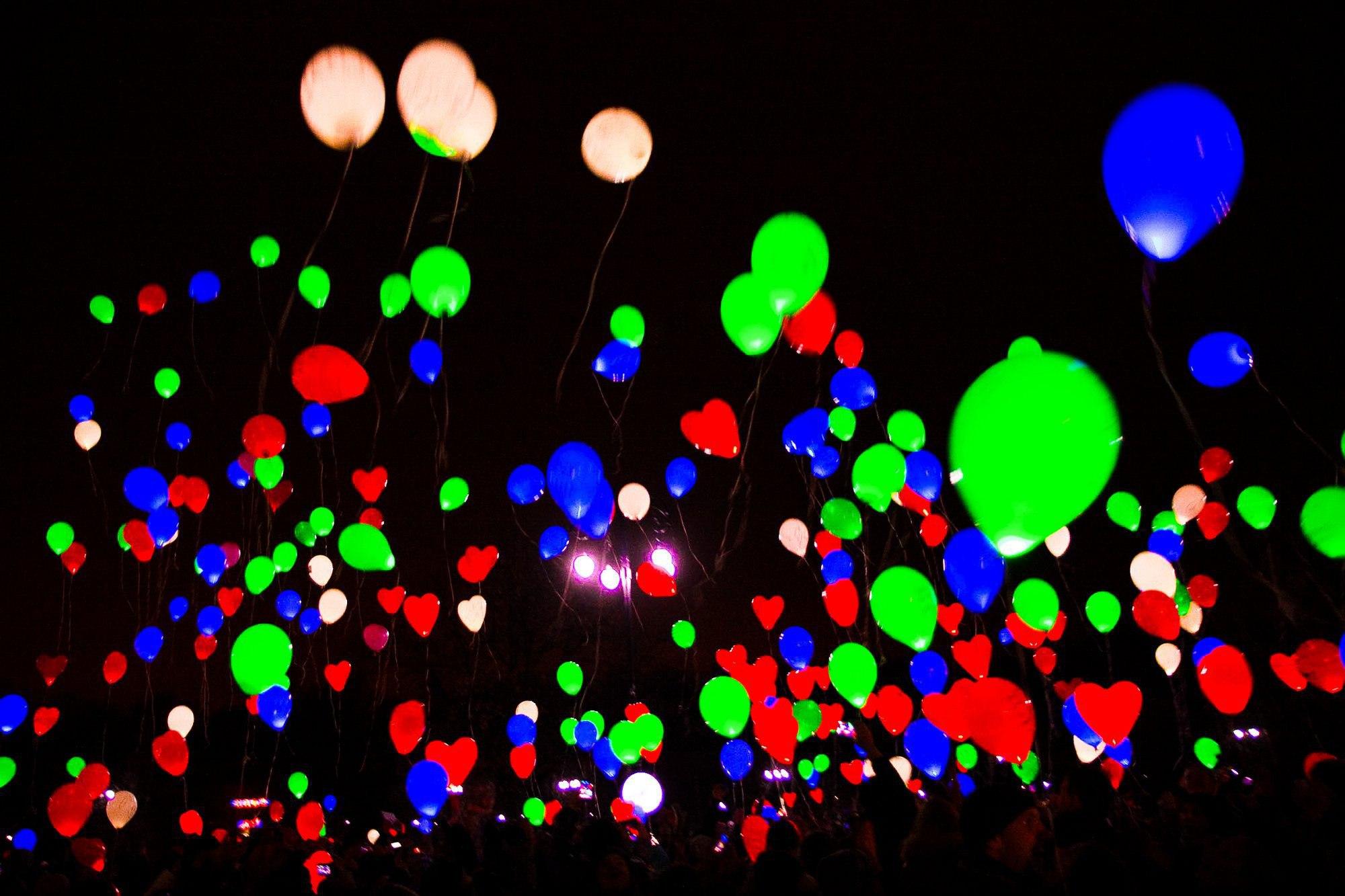 ссылке шарики в небо ночью фото состоит нежнейшего