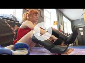 Карельская чемпионка мира по тайскому боксу