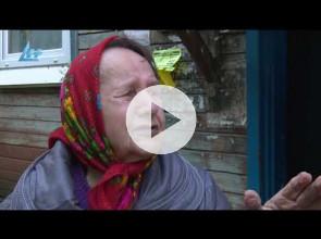 Бабушка-ветеран замерзает в аварийном бараке на улице Советской