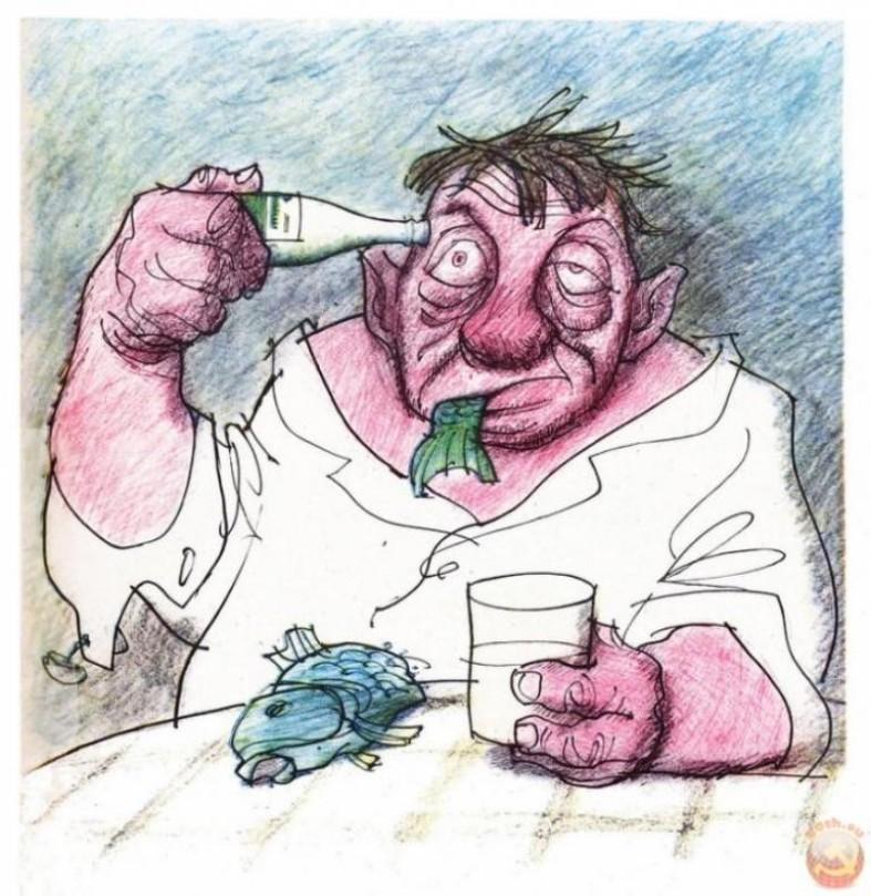 свое смешная картинка про алкоголизм нашей