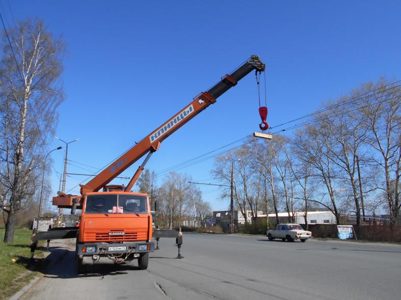 22e4d7aa7c32 Из столицы Карелии отгрузили два элемента конструкций, их будут  использовать на нефтеперерабатывающем заводе для производства топлива.