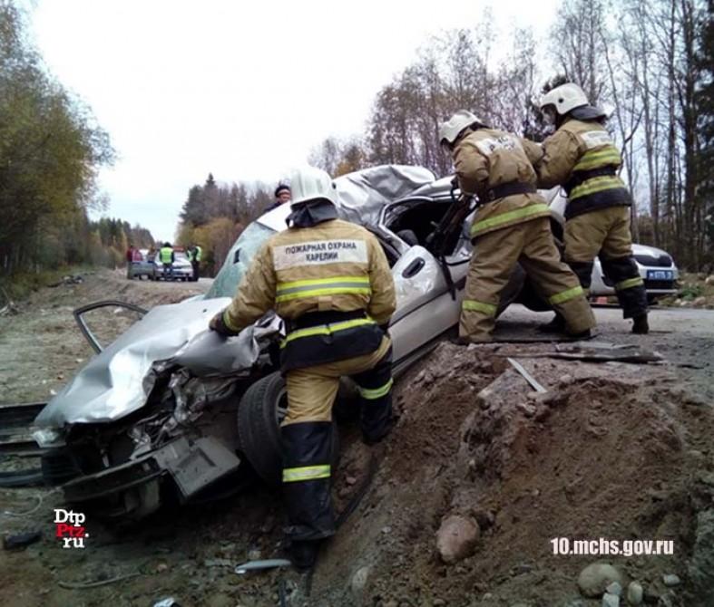 Смертельное ДТП случилось наремонтирующемся участке дороге вКарелии