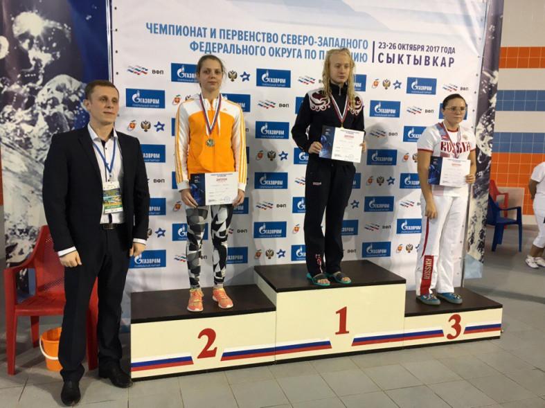 Пловцы изВолгодонска взяли призовые места наЧемпионате ЮФО