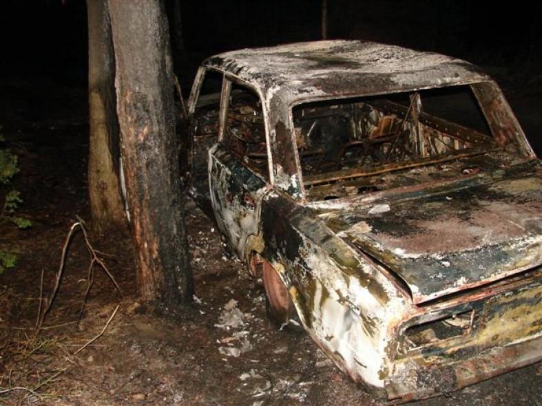 Автомобиль жителя Карелии выгорел дотла  Автомобиль жителя Карелии выгорел дотла  Автомобиль жителя Карелии выгорел дотла