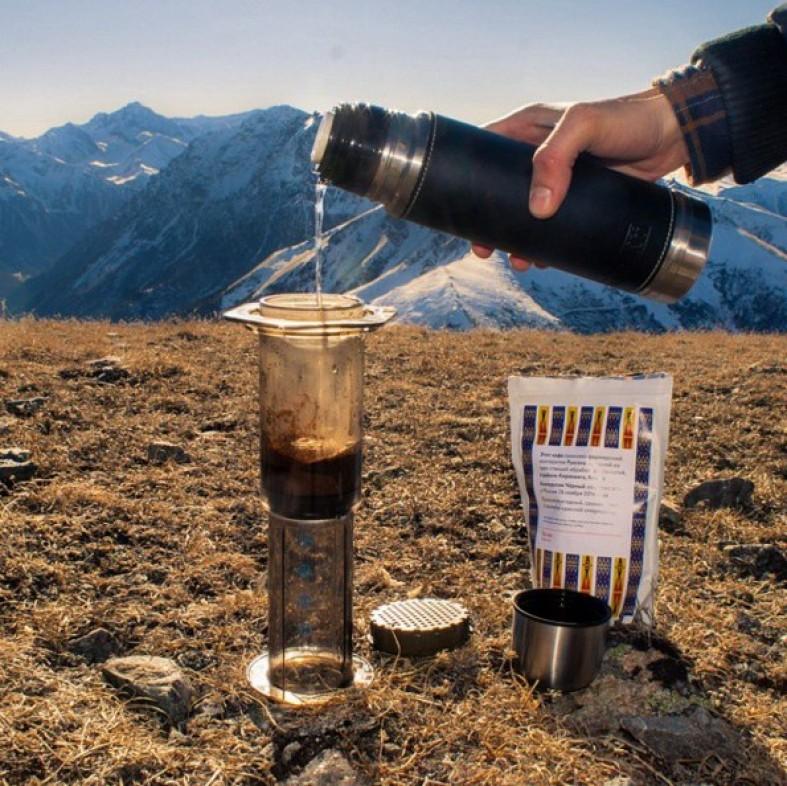 Как приготовить кофе методом аэропресс
