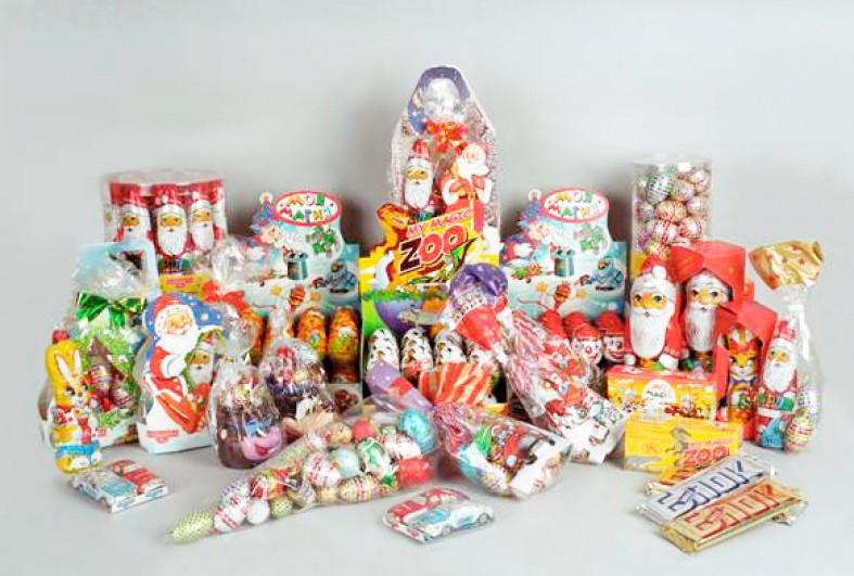 Подарки новогодние сладкие детям