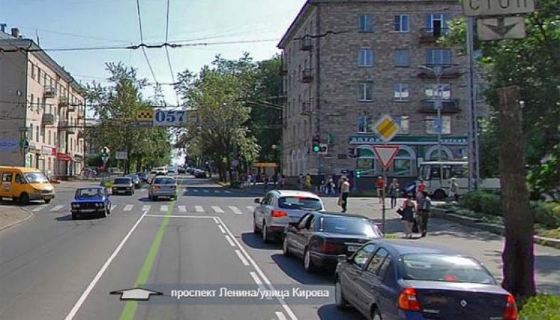 "перекрестке ""улица Кирова"