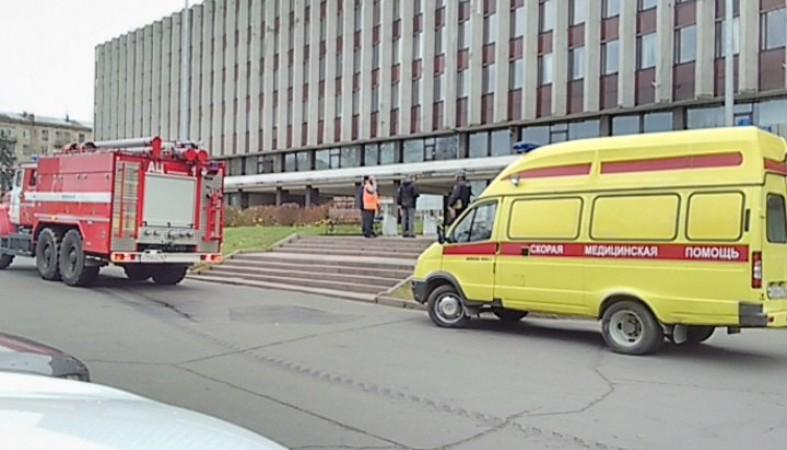 Эвакуированы работники мэрии игорсовета Петрозаводска
