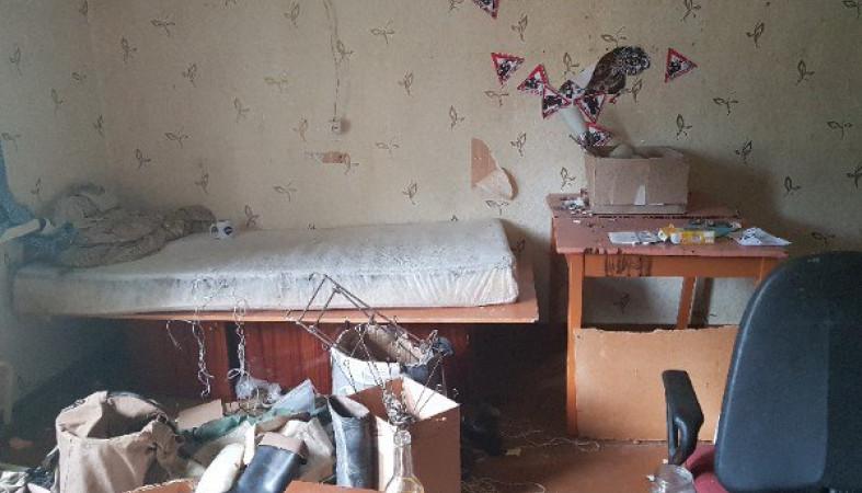 Ужасный пожар произошел предыдущей ночью вПетрозаводске