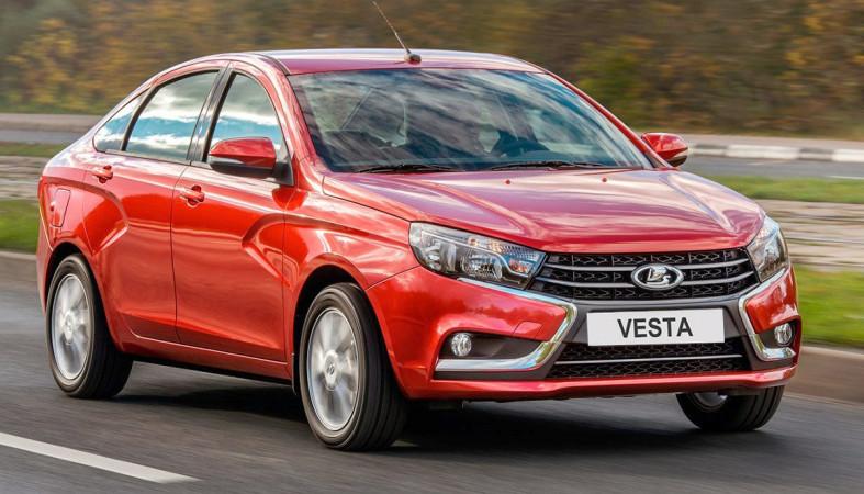 Лучший результат месяца ипобеда Лада Vesta— рынок автомобилей РФ