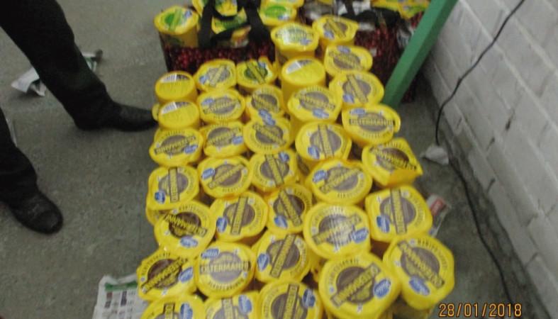 ВКарелии уничтожили неменее 550кг санкционной продукции