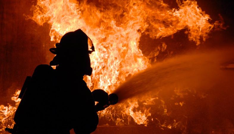 Женщина погибла сегодня ночью напожаре вПетрозаводске