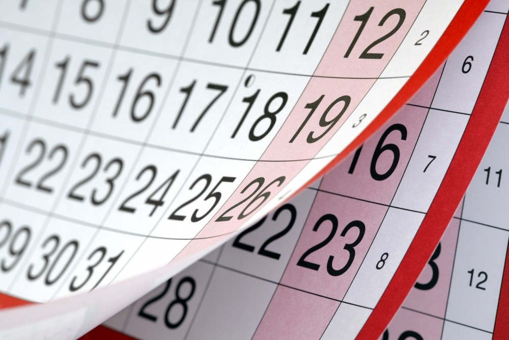 Утвержден график выходных дней на следующий год