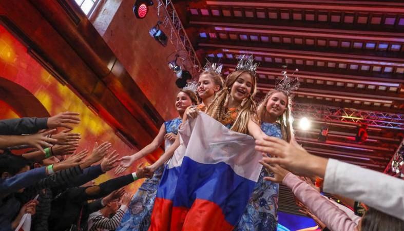 Победу надетском «Евровидении» одержала эстрадная певица изГрузии