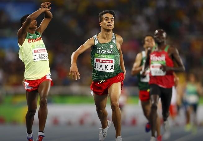 Паралимпийцы пробежали забег на1500 метров скорее чемпиона Олимпиады