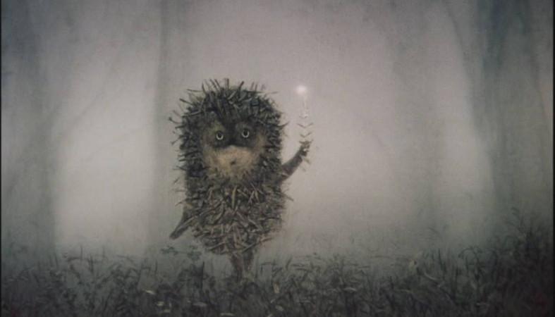 картинки ёжик в тумане фото