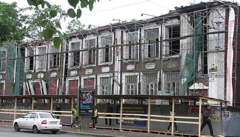 Реконструкция старинного здания в центре Петрозаводска может начаться уже в следующем году