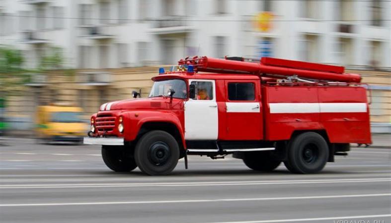 Жилой дом чуть не сгорел в Петрозаводске из-за проводки