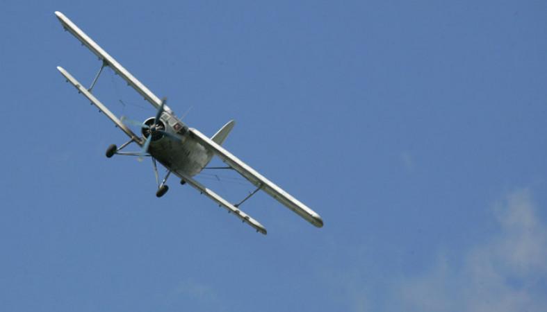 В Архангельской области совершил жесткую посадку самолет Ан-2