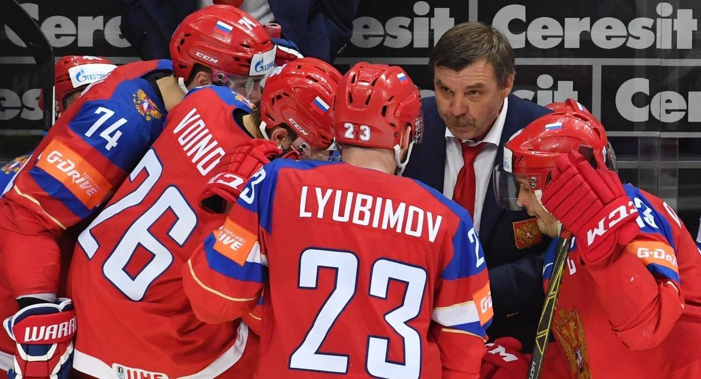 Сборная России выиграла первый период уамериканцев 2:0