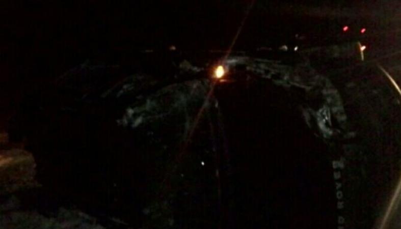 """Машина перевернулась на """"Коле"""", на месте работают спасатели и скорая (фото)"""