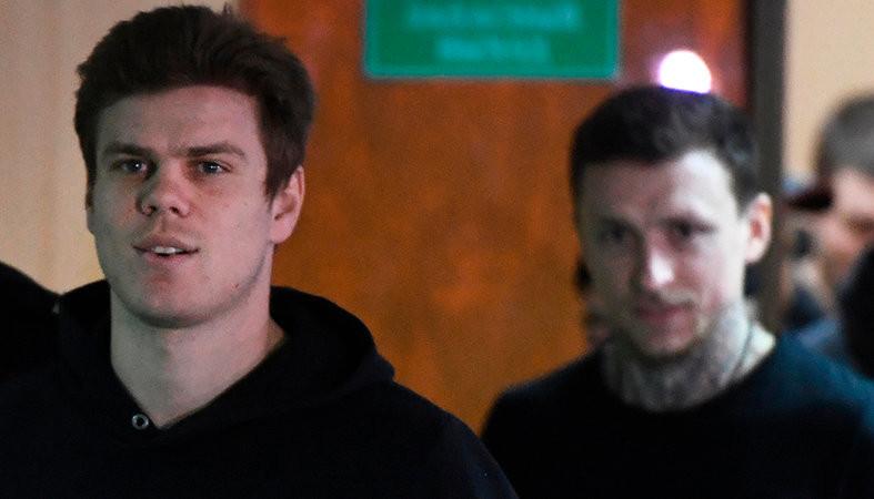 Кокорина и Мамаева оставили под стражей ещё на полгода