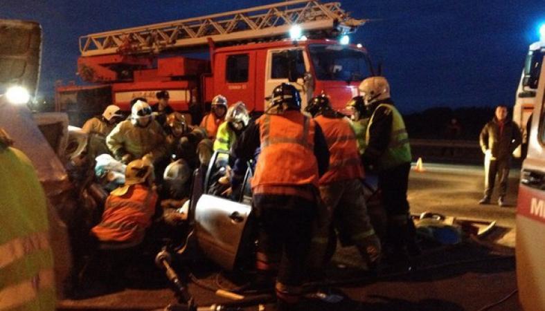 Водитель погиб в страшной аварии в Карелии