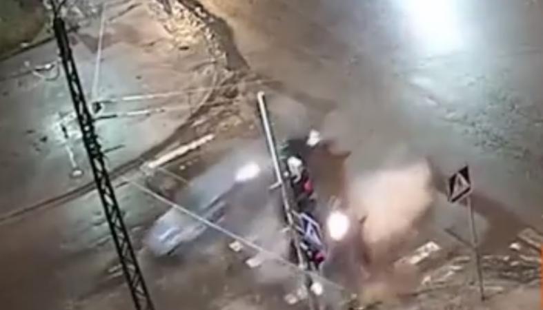 Свидетелей страшной аварии ищет ГИБДД Петрозаводска (видео)