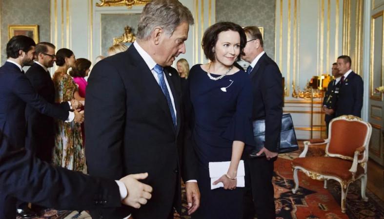 Супруга президента Финляндии ждет ребенка