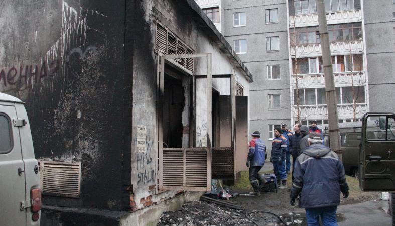 Стали известны причина пожара в трансформаторной будке и сроки ремонта сетей на Древлянке