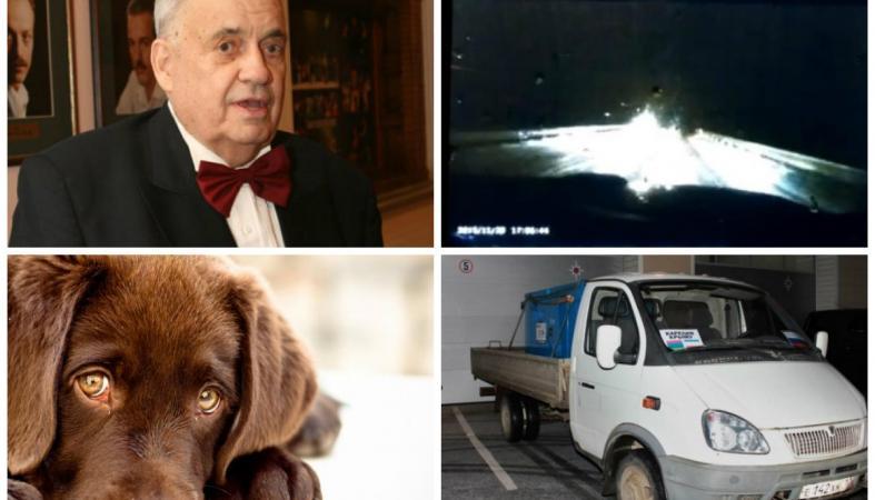 Умер Эльдар Рязанов, страшное ДТП с погибшими в Карелии, стрельба по собакам: обзор утра