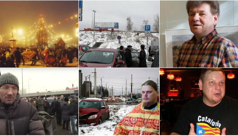 Пешеход-призрак, упрямые дальнобойщики, пьяный священник и неожиданный циклон: новости дня