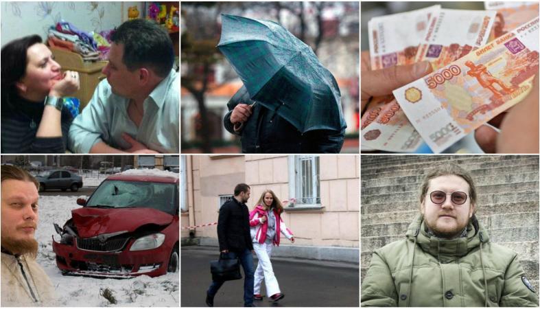 Наш герой на ТВ, священник в суде, страх девушки с Донбасса, деньги врачей: новости дня