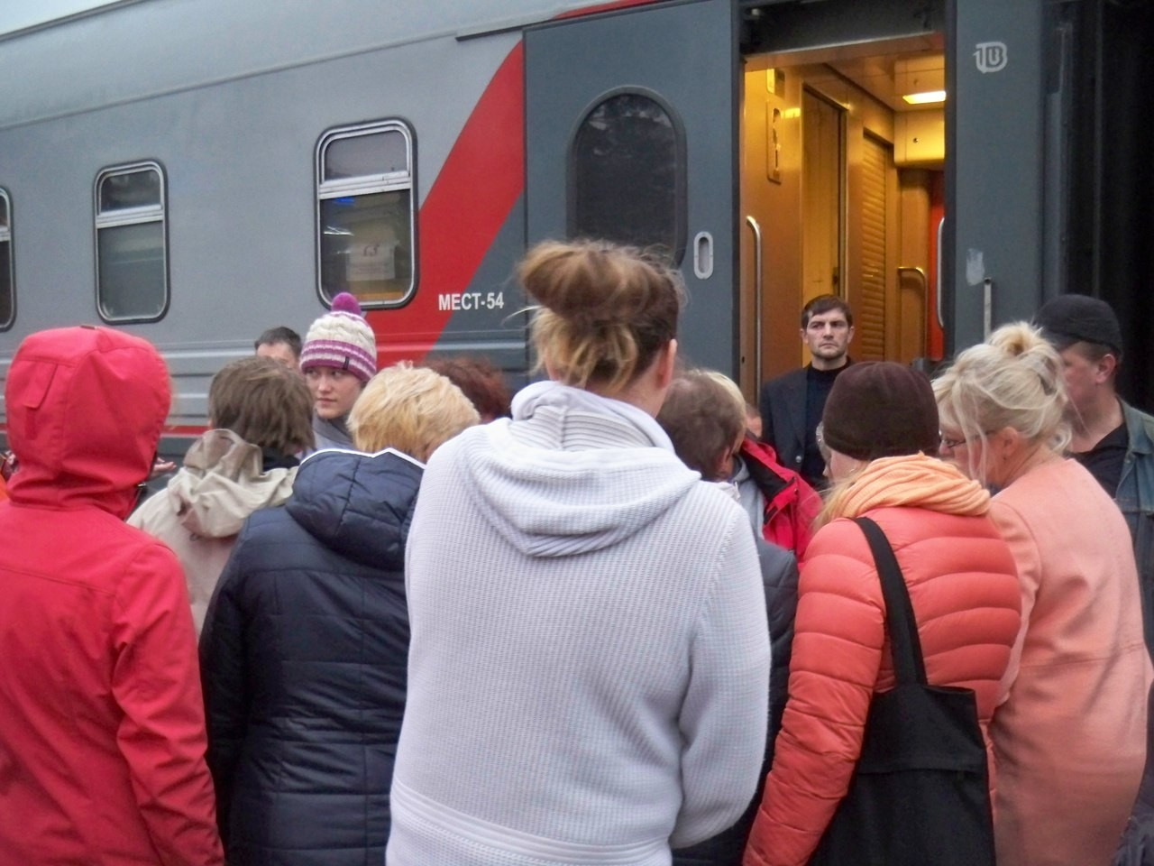 Детей сОРВИ сняли споезда Анапа— Петрозаводск