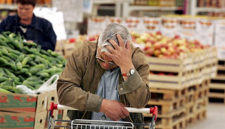 65% граждан России ощущают вгосударстве экономический кризис