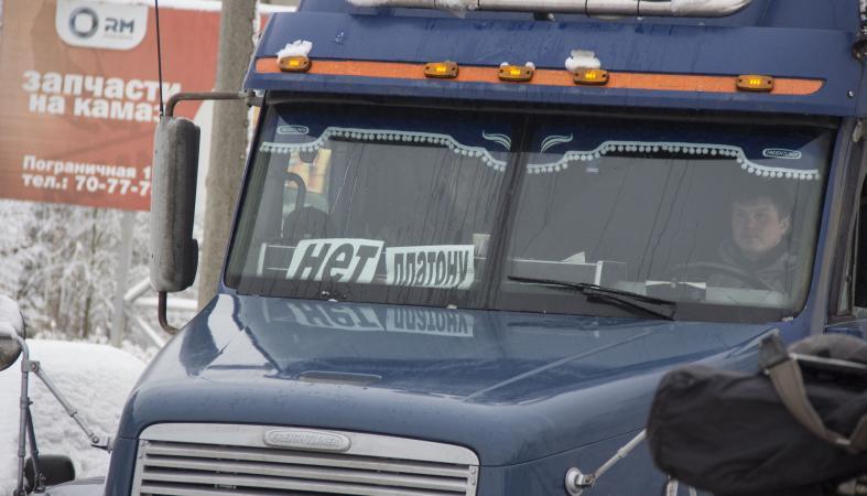 Карельские дальнобойщики сообщают, что их не пропускают в Москву на акцию протеста