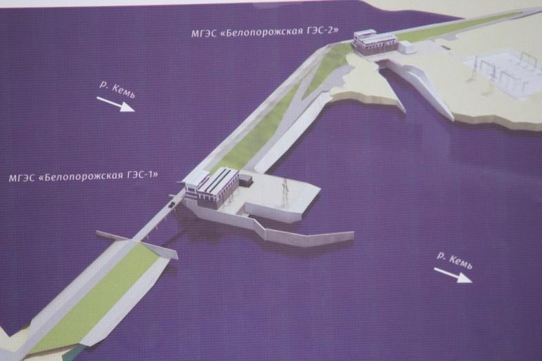 Худилайнен подписал соглашение оначале возведения Белопорожской ГЭС