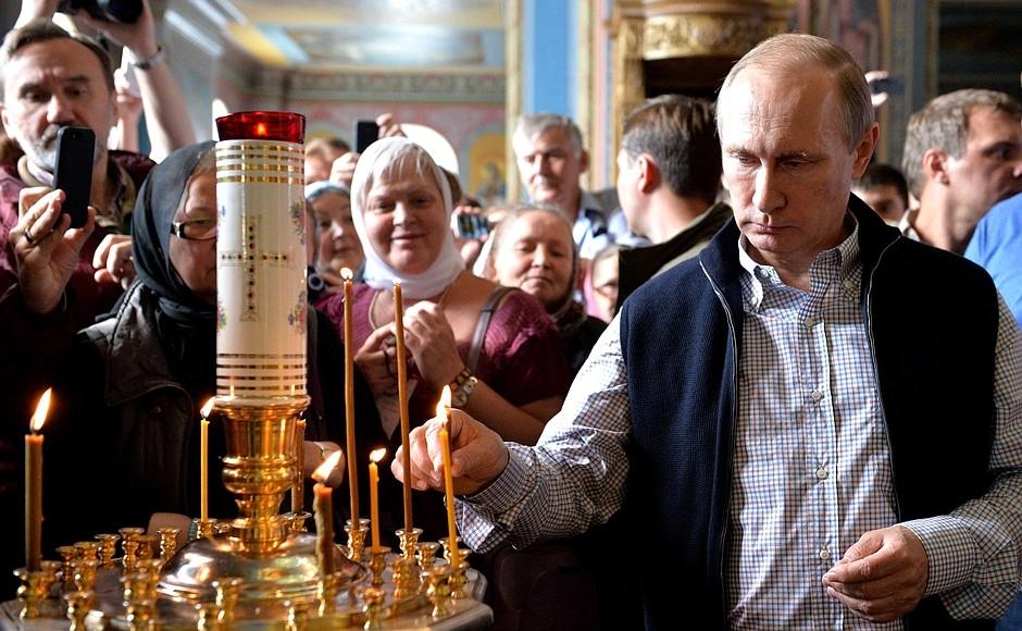 Путин и Кабаева: фото свадьба на Валааме